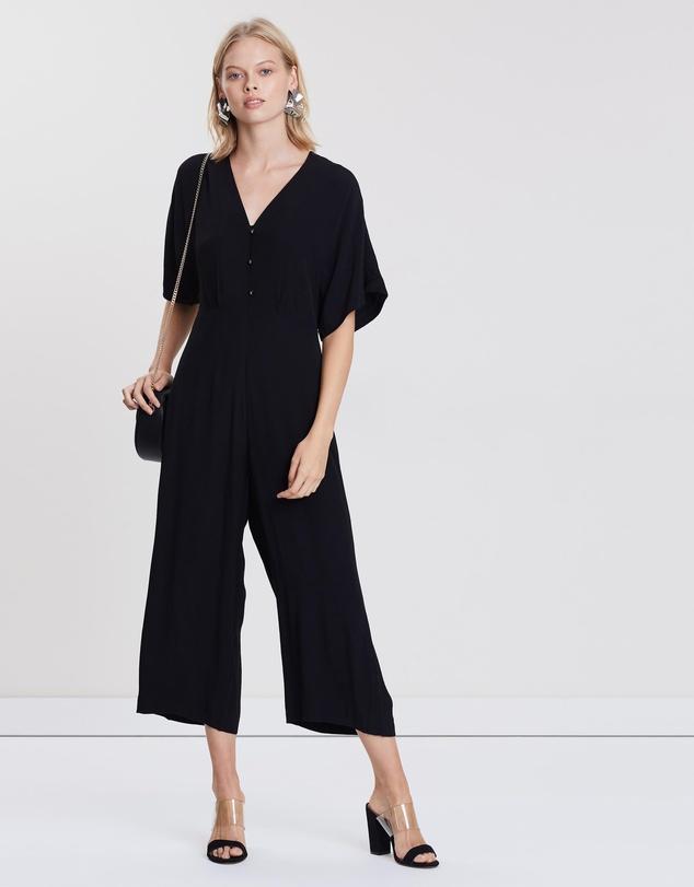 choose original great variety models factory price Fernanda Crepe Jumpsuit