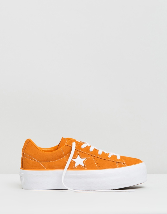 Converse - One Star Platform Sneakers Ox - Women's