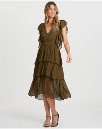 The Fated - Lets Dance Tiered Dress