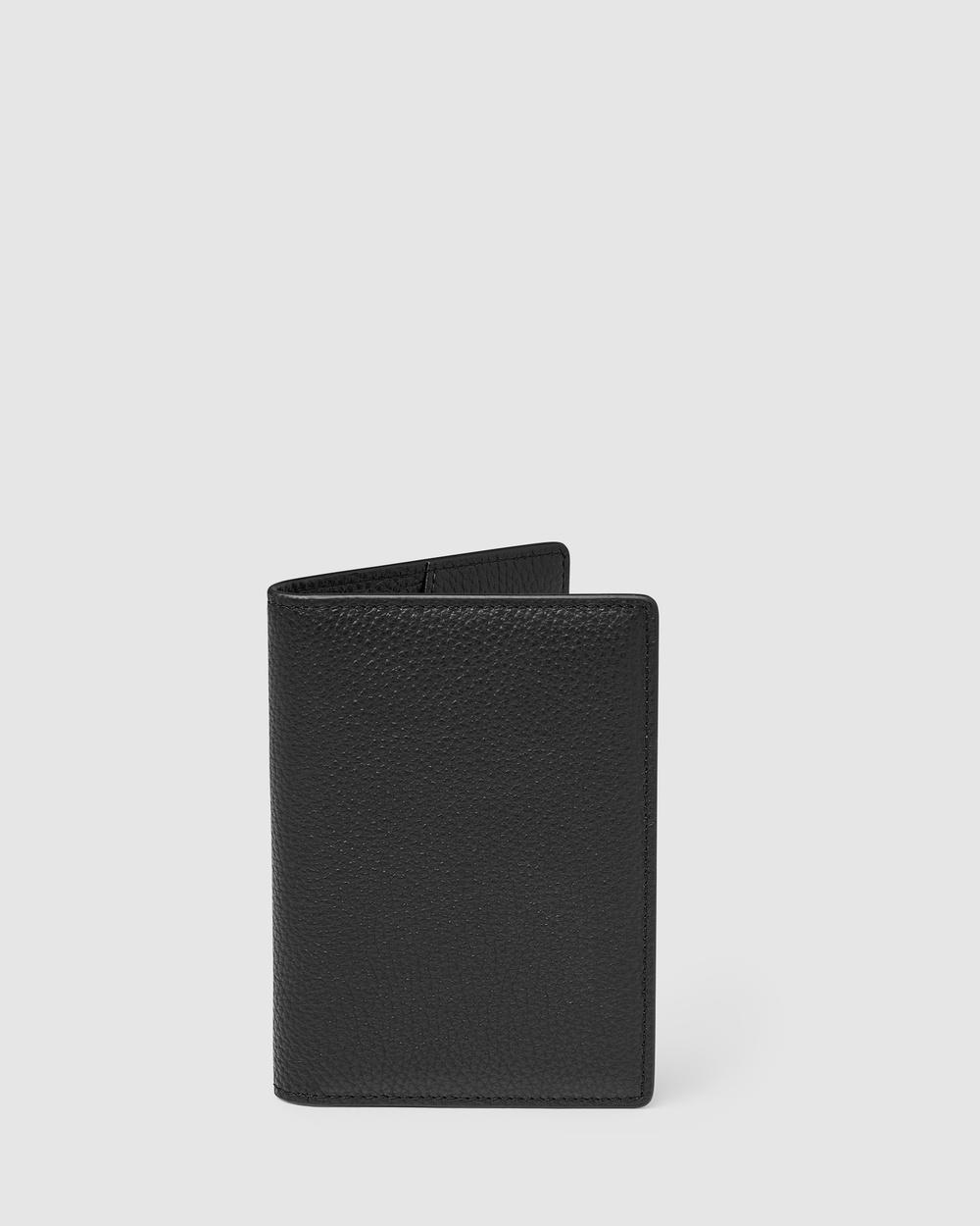 Kinnon Earle Passport Holder Travel and Luggage Black