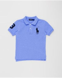 Polo Ralph Lauren - Big Pony Mesh Polo Shirt - Kids