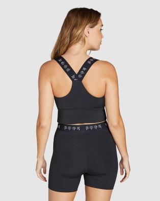 Rockwear Popsicle Longline Low Impact Sports Bra - Sports Bras (BLACK)