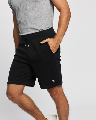 Abercrombie & Fitch Icon Shorts - Shorts (Black)