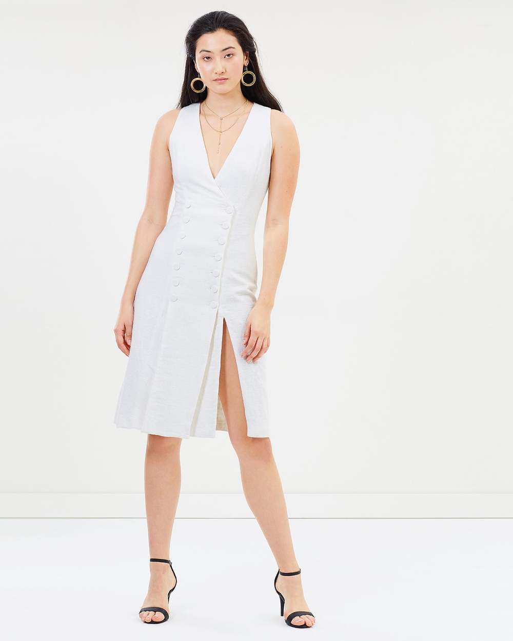 Third Form Closure Midi Dress Dresses Natural Closure Midi Dress