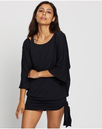 Michael Kors - Iconic Solids Side Tie Cover-Up