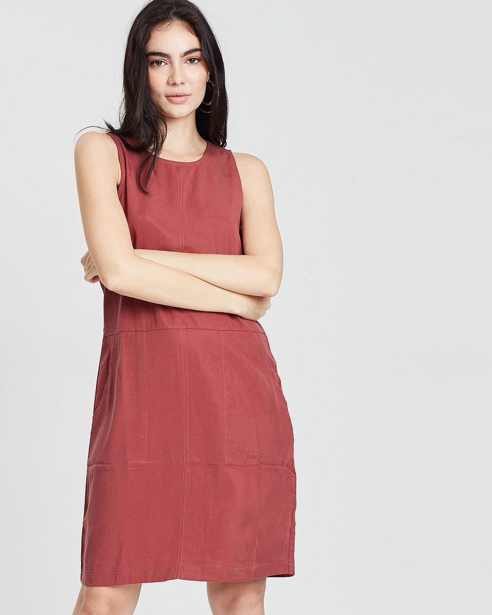 Mossimo Burnt Orange Harper Dress