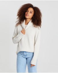 Assembly Label - Roll Neck Knit Jumper