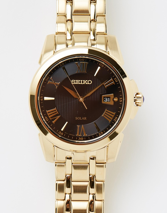 Seiko - Men's Le Grand Sport Solar Analogue 100m