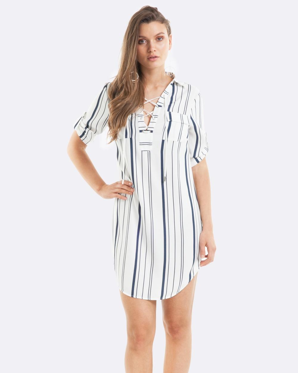 Amelius Alexis Shirt Dress Dresses Multi Alexis Shirt Dress