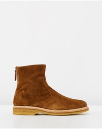 WANT Les Essentiels - Stevens Shearling Lined Crepe Sole Boots