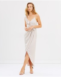 Shona Joy - Asymmetric Ruffle Dress