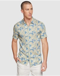Oxford - Putney Printed Short Sleeve Shirt