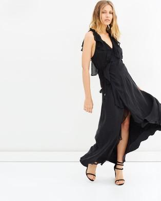 IXIAH – Viva Frill Wrap Dress