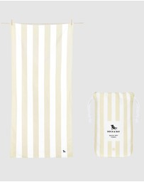 Dock & Bay - Large Beach Towel 100% Recycled Cabana Light Collection