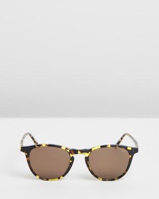 RIXX Eyewear Clayton - Square (Havana Polarised)