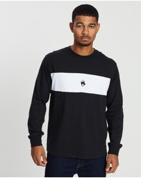 Afends - La Flama Retro Fit Long Sleeve Tee