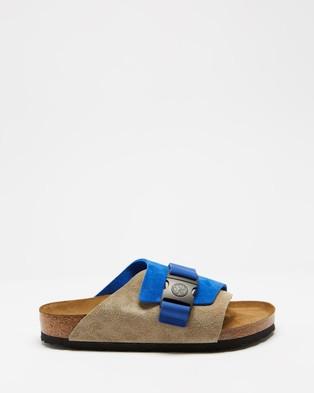 Birkenstock - Copenhagen SU Unisex Casual Shoes (Ultra Blue & Taupe)