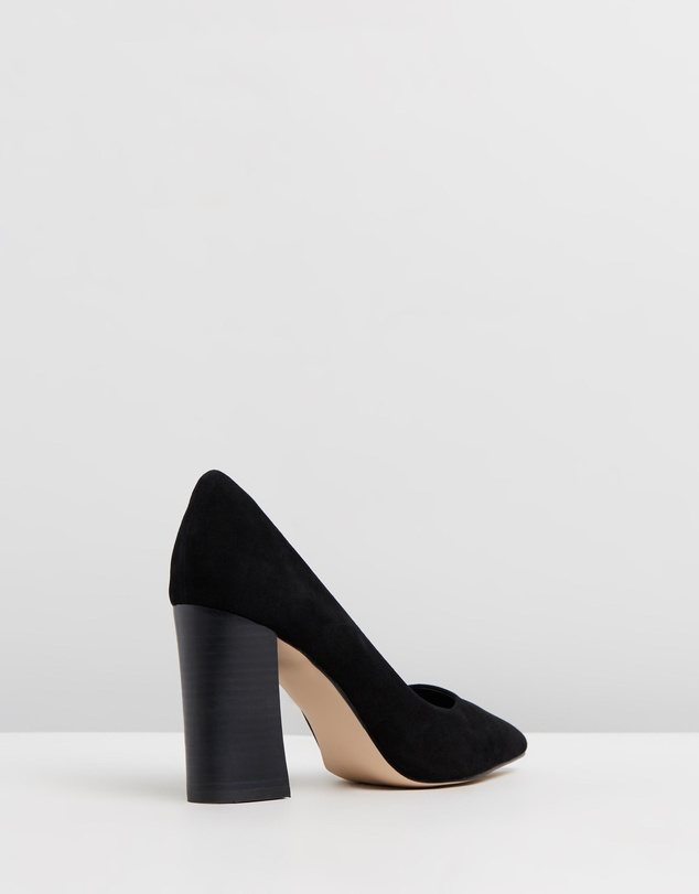 Atmos&Here - Brielle Leather Block Heels