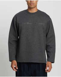 White Mountaineering - Logo Embroideried Sweatshirt