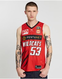 First Ever - NBL - Perth Wildcats 19/20 Authentic Home Jersey - Damian Martin