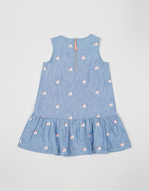 crewcuts by J Crew - Krystal Unicorn Dress - Kids