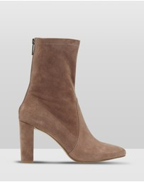 Oxford - Imogen Suede Sock Boots