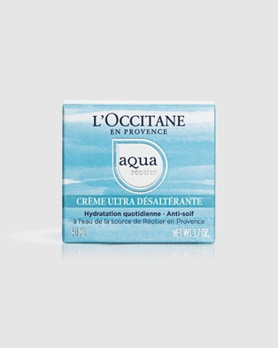 L'Occitane Aqua Thirst Quench Cream 50ml - Beauty (R??otier Spring Water)