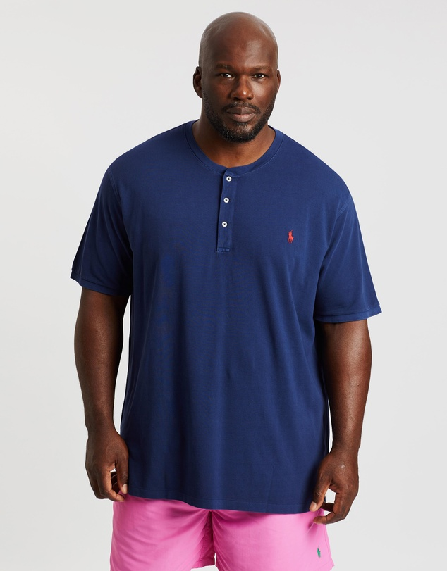 Polo Ralph Lauren - Plus SS Knit Henley