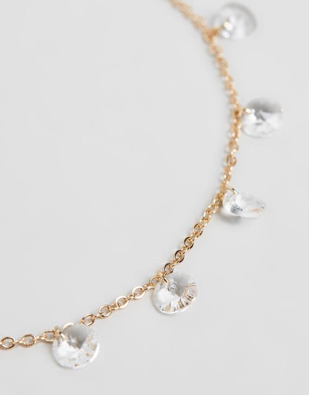 Women Marina Anklet with Swarovski® Crystals