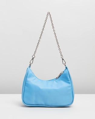 PETA AND JAIN Paloma Crossbody Bag - Handbags (Blue Nylon)