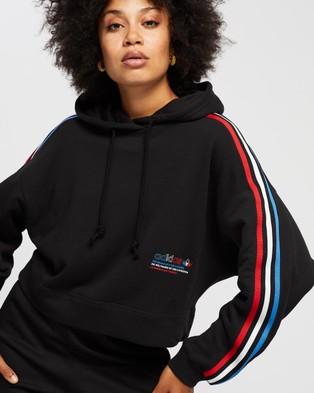 adidas Originals Hooded Sweat - Hoodies (Black)