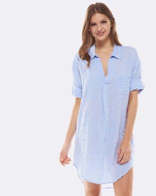Deshabille – Revallo Shirt Dress Blue Blue