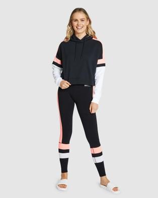 Superdry Sport Streetsport Crop Hood - Sweats & Hoodies (Black)