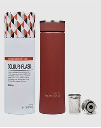 Fressko - Colour Collection 500ml Insulated Stainless Steel Flask