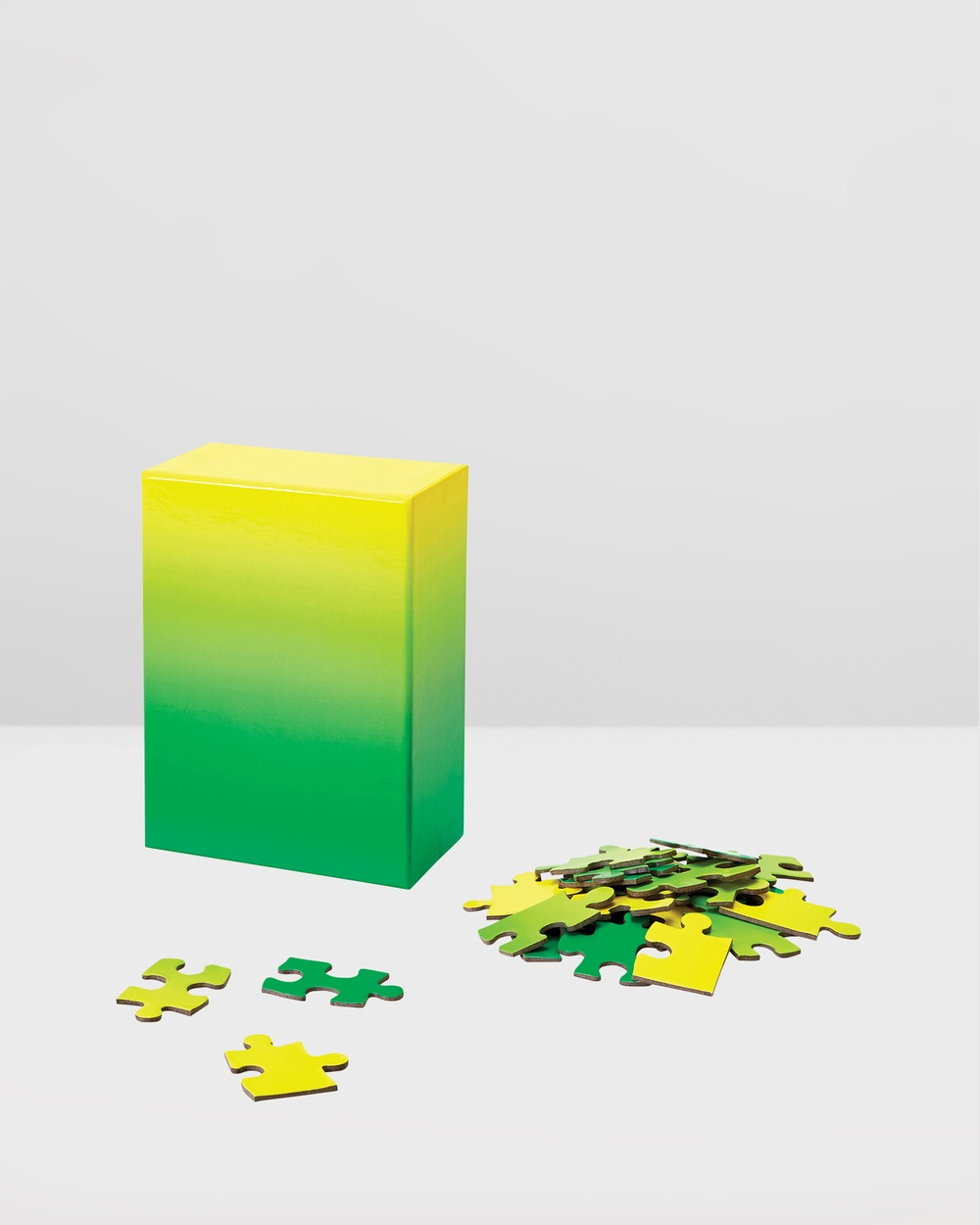 Areaware Gradient Puzzle Small All toys Green