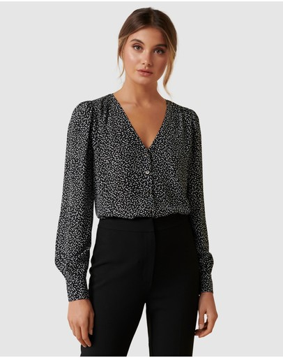 Forever New - Linda Removable Tie Blouse