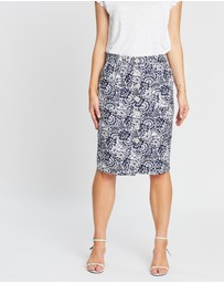 Sportscraft - Lucia Cotton Printed Skirt