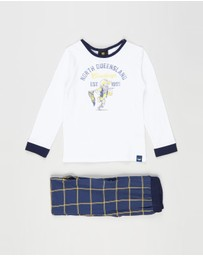 Cotton On Kids - NRL Cowboys Mascot LS Pyjama Set - Kids