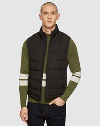 Oxford - Vinnie Quilted Puffa Vest