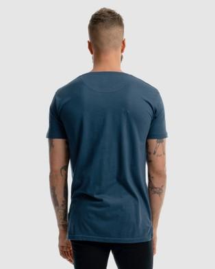 Xander Fort Tee - T-Shirts & Singlets (BLUE)
