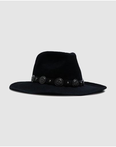 Dont Ask Amanda Noir Cowboy Hat Black