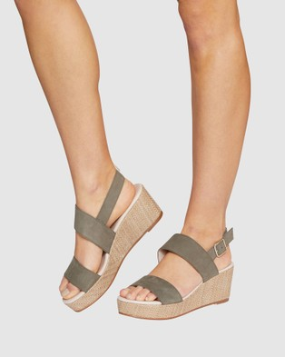 Jane Debster Caitlin - Wedges (KHAKI)