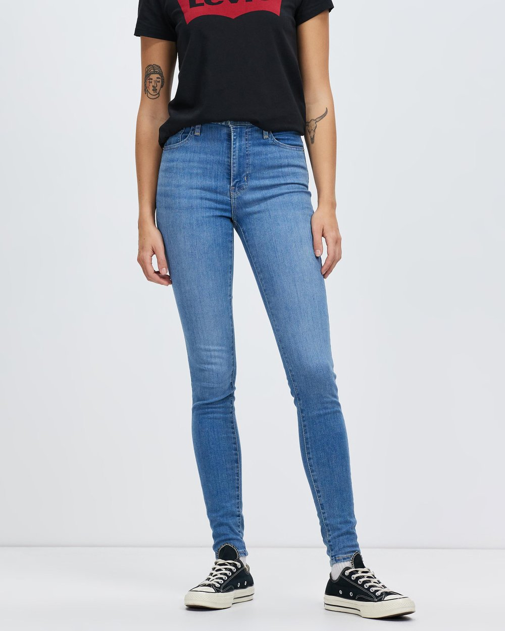 adbe3710 Mile High Super Skinny Jeans by Levi's Online | THE ICONIC | Australia