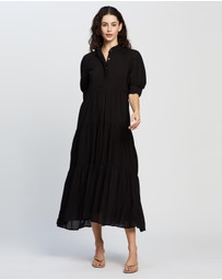 Never Fully Dressed - Panel Maxi Dress