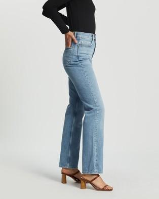 M.N.G Urban Jeans - High-Waisted (Open Blue)
