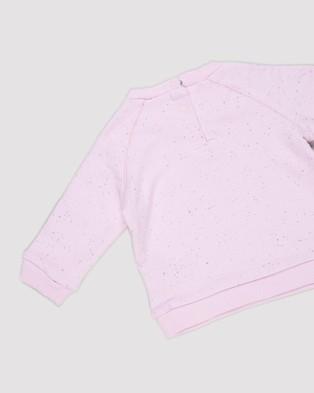 Cotton On Baby Harley & Tatum Tracksuit Babies Sweats Pale Violet Dusty Purple Nep