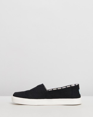 TOMS Heritage Espadrilles   Mens - Slip-On Sneakers (Black)