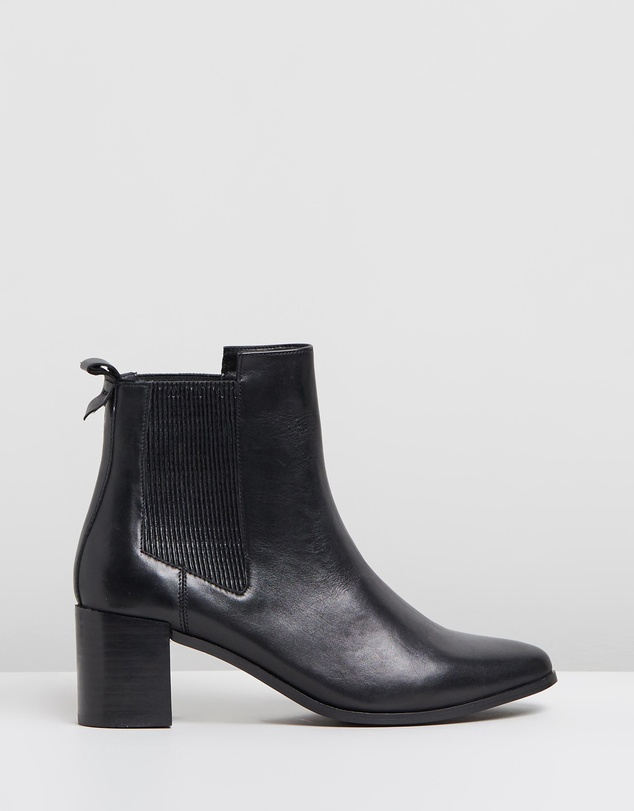 Atmos&Here - Briana Leather Ankle Boots