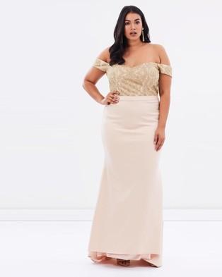 ROXCIIS – Grace – Bridesmaid Dresses Nude