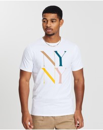 Saturdays NYC - NY NY Multicolour SS Tee